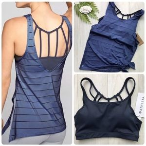 XL⭐️Athleta Max Out 2 in 1 Tank Top and Sports Bra